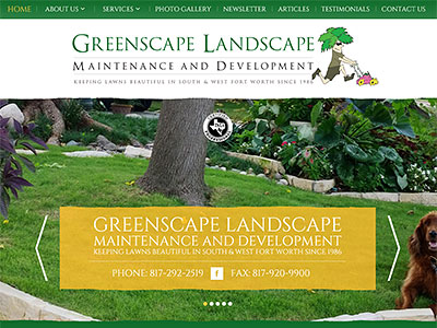GREENSCAPE LANDSCAPE MAINTENANCE